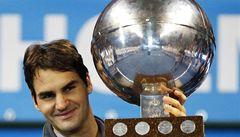 Federer ovládl turnaj ve Stockholmu a vyrovnal se legendárnímu Samprasovi
