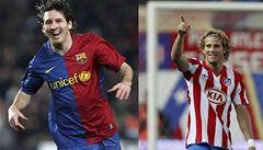 Těžká volba, kdo získá Zlatý míč FIFA: Messi, nebo Forlán?