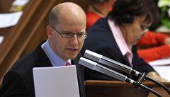 ČSSD nechce, aby Česko zachraňovalo padající země eurozóny