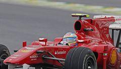Alonso na titul v F1 zaútočí ze třetího místa, první příčku si vyjel Vettel