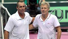 V tenisové bitvě dvou legend Ivan Lendl porazil Björna Borga
