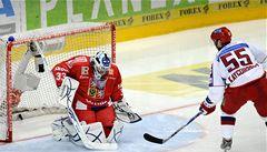 Čeští hokejisté selhali. 'Spadli jsme na zemi,' řekl brankář Štěpánek