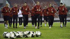 Reprezentaci čeká Dánsko, v útoku nastoupí osamocený Necid
