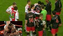 VIDEO: 'Kanibal' z Ajaxu jako Tyson. Suaréz se zakousl do soupeře