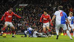 VIDEO: Kouzla v 'divadle snů'. Berbatov zničil pěti góly Blackburn