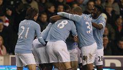 Manchester City je druhý, bodově se dotáhl na vedoucí Arsenal