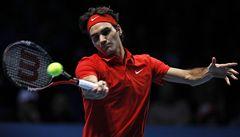 Federer vypráskal ve finále Turnaje mistrů Nadala