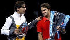 Nadal v tenisové sezóně 2010 vládl, rivalita s Federerem ale neumírá