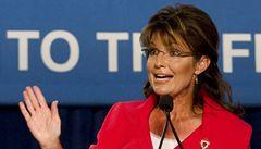 Odstřelte politiky, vyzvala Palinová. Kongresmanka byla na seznamu