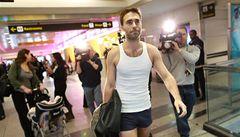 Američan ve spodkách protestoval proti letištním skenerům