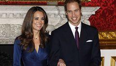 Královská svatba v Británii bude na jaře. Princ William se ožení 29. dubna
