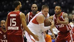 Tentokrát se basketbalistům Nymburka nedařilo, v EC podlehli Jeruzalému