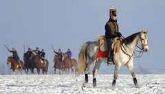 Zabití koně mají první pomník. U Slavkova
