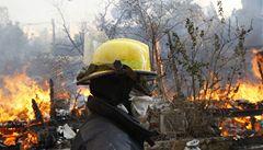 Ničivé požáry v Izraeli zřejmě vznikly nedbalostí při pikniku