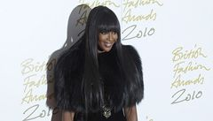 British Fashion Awards: Naomi Campbell získala cenu za 25letý vliv na módu