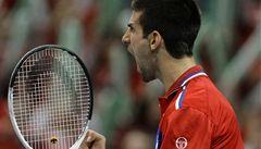 Srbští tenisté hrají ve finále Davisova poháru s Francií 1:1