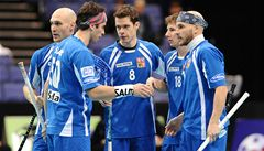 Florbalová reprezentace je týmem amatérů, s jedním profesionálem