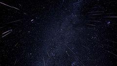 Tisíce padajících hvězd. Nadešel skvělý čas pro pozorování meteorů