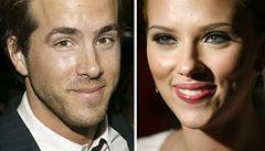 Scarlett Johansson se rozešla s manželem, nejvíc sexy mužem světa