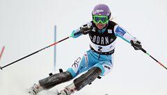 Záhrobská stále nezáří, ve Francii dojela ve slalomu desátá