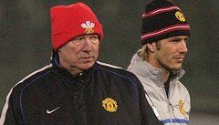 Ferguson a Wenger vzkázali Beckhamovi: Jsi starý, nechceme tě