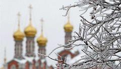 Z Ruska se do Evropy šíří arktická zima, na Sibiři je 60 pod nulou