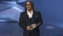 V USA začala sezóna udělování cen. U diváků zvítězil Depp a Sandler