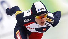 Sáblíková je v polovině světového šampionátu třetí, Erbanová čtrnáctá