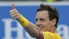 Spokojený Berdych po vstupu do Australian Open: Je dobré šetřit síly