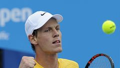 Australian Open: Berdych nadělil soupeři kanára, Češky vyřazení oplakaly