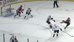 VIDEO: Trefou jako slavný naganský gól Jágra okouzlil NHL
