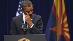 Kongresmanka poprvé otevřela oči, Obama v projevu vyzval k politické toleranci