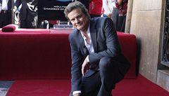 Colin Firth má na hollywoodském chodníku slávy svou hvězdu