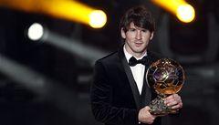 Barcelonský trojboj o Zlatý míč ovládl Messi, trofej získal už podruhé