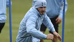 OBRAZEM: Beckham už trénuje v Tottenhamu. Ve formě ale není