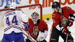Hamrlík vysedává na tribuně. Doplatil na formu nebo kritiku NHL?