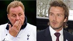 'Zamilovaný' Redknapp: Počkám si na Beckhama, až bude volný