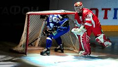 Veterána Haška vyškolil při nájezdech Utkání hvězd KHL drzý ruský mladík