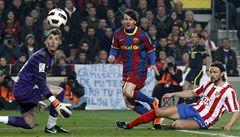 'Řezník' Ujfaluši tentokrát Messiho nezkrotil, Argentinec nasázel hattrick