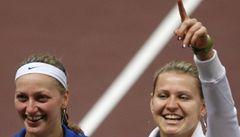 Hrdinka Kvitová: Jsme rády, že jsme rozhodly už ve třech zápasech