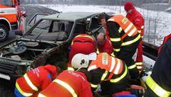 Vážná dopravní nehoda zablokovala příjezd do Českých Budějovic