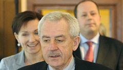 Šnajdr opustí ministerstvo, rozhodl Heger