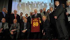 Masopust slavil osmdesáté narozeniny. Gratuloval mu i legendární Pelé