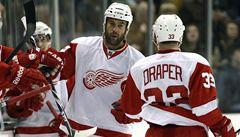 Detroit vyřadil v NHL Phoenix se čtyřmi Čechy