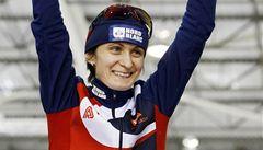 Plán vyšel dokonale, těšilo po novém světovém rekordu Sáblíkovou