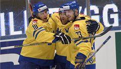 Švédové před domácími fanoušky rozdrtili ruskou sbornou 6:2