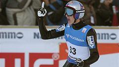 Lety ve Vikersunudu vyhráli společně Evensen a Schlierenzauer