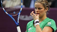 Clijstersová se zranila. Přijde o Fed Cup proti Češkám