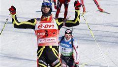 Generálku na MS biatlonistů vyhrál Francouz Martin Fourcade
