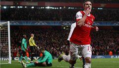 Arsenal během pěti minut otočil osmifinále Ligy mistrů s Barcelonou